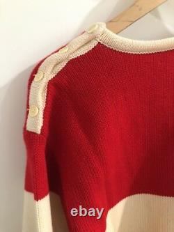 100% Authentic Vintage Gucci Wool Sweater Size 40
