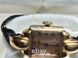 1940s, ROLEX Vintage Ladies 18K Gold Watch
