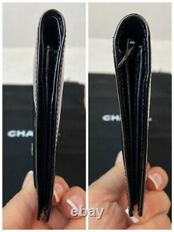 AUTHENTIC CHANEL CC PATENT Leather Long WalletpUS SELLER