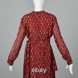 Adele Simpson Elegant Evening Gown Romantic Formal Dress Loose Flowy Bohemian