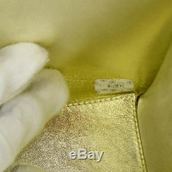 Auth CHANEL Quilted CC Single Chain Shoulder Bag Red Velvet Vintage GHW AK25690c