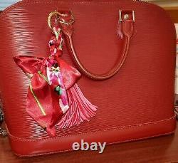 Authentic Louis Vuitton Alma PM Rubis Handbag Vintage