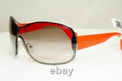 Authentic PRADA Womens Vintage Sunglasses Ski Visor Red SPR 630 5AV-0A7 31447