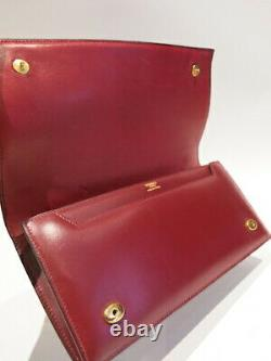 Authentic Vintage HERMES 1977 Eugenie Clutch and Hand bag