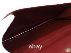 CARTIER Cartier Must De Vintage Bordeaux Shoulder Bag CS14756L