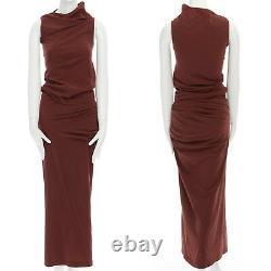 COMME DES GARCONS Vintage SS1997 Lumps & Bumps red asymmetric top skirt set M