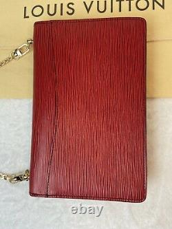 Certified Auth. Louis Vuitton Red Epi Leather Cross Body Us Seller