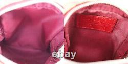Christian Dior Trotter Small Pouch Rasta Color PVC Leather Authentic #SS33 Y