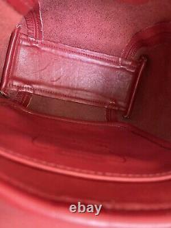 Coach Vintage Red Soho Small Flap Mini Shoulder Crossbody Bag #4108