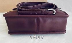 Coach Vintage Willis Currant Crossbody Satchel Nickel Bag #9927 USA