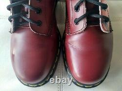 Doc Dr Martens Manga Anime Girl Face 1914 Boots Rare Vintage Made In England 7uk