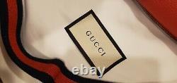 Gucci fanny pack waist bag, Gucci print leather bag. GG vintage
