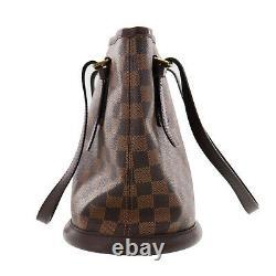 LOUIS VUITTON Marais Hand Bag Brown Ebene Damier N42240 Vintage Auth #II26 S