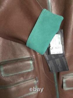 Prada Leather Coat Trench Coat Jacket Nappa Bicolore £2750 Brand New Vintage