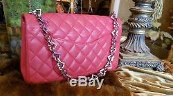 Rare Chanel Limited Edition Vintage Valentine Red Flap Bag Mint