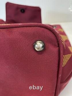 Rare Vtg Jean Paul Gaultier Red Star JPG Logo Backpack