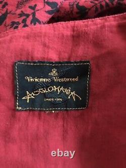 Rare Vtg Vivienne Westwood Anglomania Red Dress M