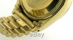 Rolex Date Presidential 6917 18K gold automatic ladies watch with Roman dial