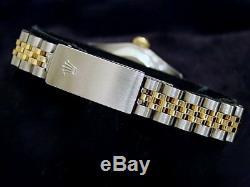 Rolex Datejust Ladies 2Tone 18K Yellow Gold & Steel Watch Pink MOP Diamond 69173