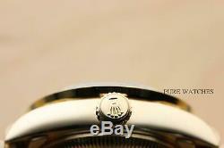 Rolex Ladies President 18k Yellow Gold Diamond Watch & Original Rolex Bracelet