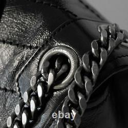 Saint Laurent Niki Medium In Crinkled Vintage Leather Shoulder Bag