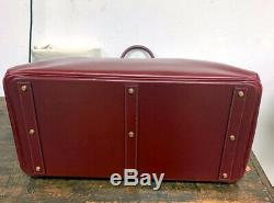 Vintage Authentic Hermes HAC 55 Luggage Bag Made in 1983