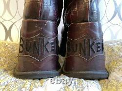 Vintage BUNKER Club Kid Platform Boots Trash & Vaudeville NYC RARE! Unisex SZ 41