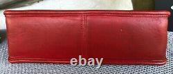 Vintage Coach Willis RED Crossbody Shoulder Satchel Bag RARE Pre 9927 Creed(USA)