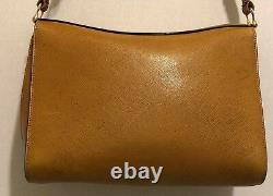 Vintage Gucci Horsebit Textured Leather Bag Red & Green Leather Stitching