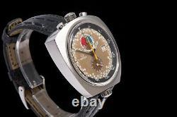 Vintage Omega Seamaster Bullhead Men's Wrist Watch Chronograph 1969