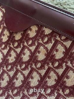 Vintage Red Christian dior Shoulder Bag