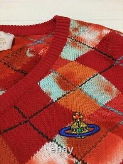 Vivienne Westwood Original Vintage Gold Label Cotton Vest made in Italy 90s Rare