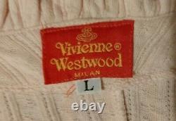 Vivienne Westwood Vintage 90s Pin Up Pink Top/ Italy/red Label/s/m/10/12. Vw Orb