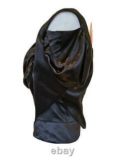 Vivienne Westwood Vintage Red Label rare Black Corset Blouse Size 46 UK 14 BNWT