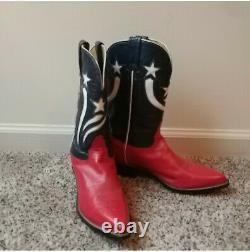 Womens vintage cowboy boots size 8