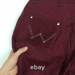 70s Vintage Wrangler Big Bell Bottoms Flare Jeans Femmes Denim W24 High Rise
