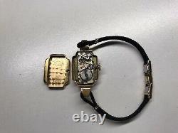 Années 1940, Rolex Vintage Ladies 18k Gold Watch