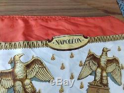 Auth. Vintage Hermes Jacquard Foulard En Soie Napoléon Par Phillip Ledoux 90cm