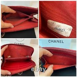 Authentique Chanel CC Patent Leather Long Walletus Seller