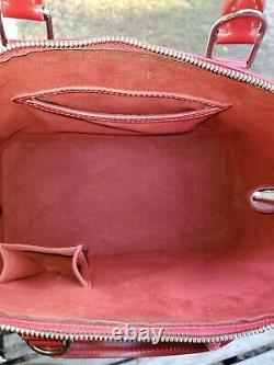 Authentique Louis Vuitton Alma Pm Sac Vintage Rubis