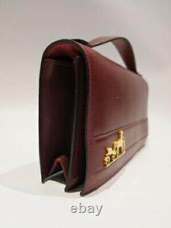 Authentique Vintage Hermes 1977 Eugenie Clutch And Hand Bag