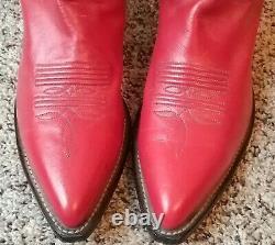 Bottes Cowboy Vintage Femmes Taille 8