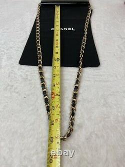 Chanel Authentique CC Patentiel Cuir Long Walletpus Seller