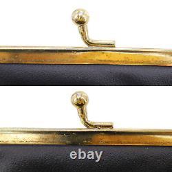 Christian Dior Trotter Pièce Purse Mini Wallet Toile Bordeaux Authentique #ac384 O