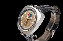Chronographe Vintage Omega Seamaster Bullhead Montre-bracelet Homme 1969