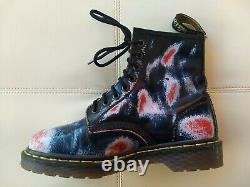 Doc Dr. Martens Blue Red White Rub-off Boots Made In England Vintage Rare 6uk Doc Dr. Martens Blue Red White Rub-off Boots Made In England Vintage Rare 6uk Doc Dr. Martens Blue Red White Rub-off Boots Made In England Vintage Rare 6uk Doc Dr