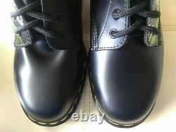 Doc. Martens Red DM Eye & Barbwire Bottes Rare Vintage Made In England 7 Uk