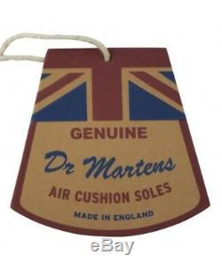 Dr. Martens Femme Vintage 1490 Limited Edition Mie Oxblood Quilon Ret. 350 $