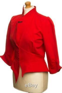 Fabuleux Thierry Mugler Paris Veste Vintage Royaume-uni 12 Nous 10 Eu 38 Fr 40 I 42