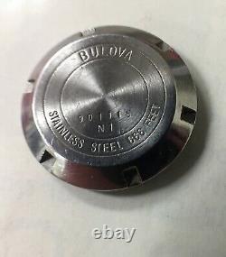 Femmes 1971 Vintage Bulova Super Compressor 666ft Montre De Plongée Automatique Lunette Tournante